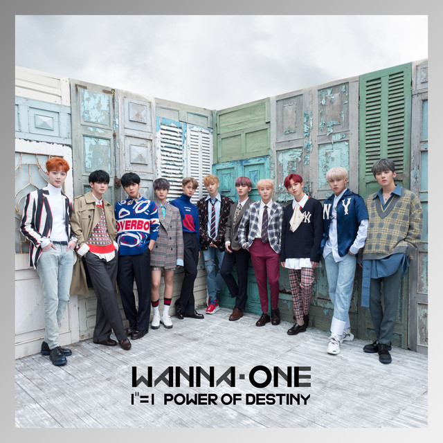Album cover for 1¹¹=1 (POWER OF DESTINY) by Wanna One