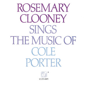 Rosemary Clooney Sings the Music of Cole Porter album