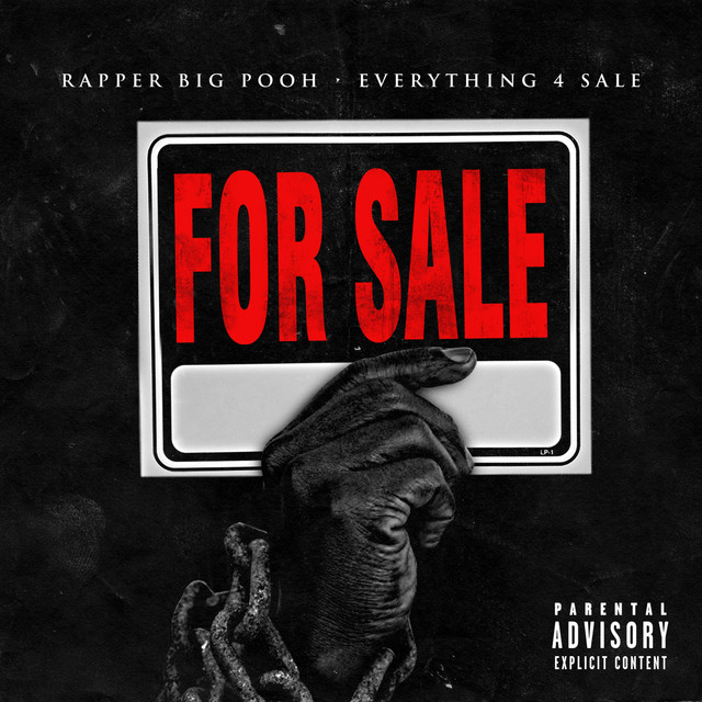 Album cover for Everything 4 Sale by Rapper Big Pooh