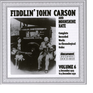 Fiddlin' John Carson After The Ball cover