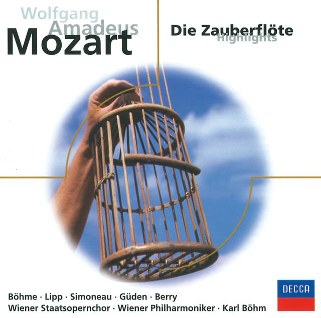 Mozart: Die Zauberflöte - Highlights Albumcover