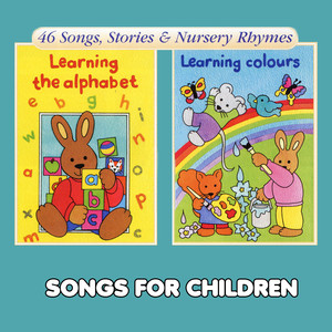 Learning the Alphabet & Learning Colours - Children's Song