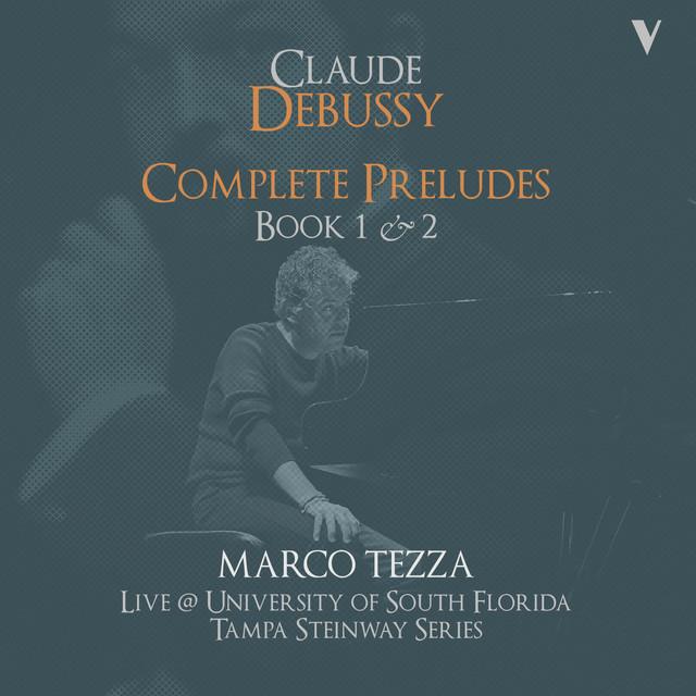 Debussy: Complete Préludes, Books 1 & 2 (Live) Albumcover