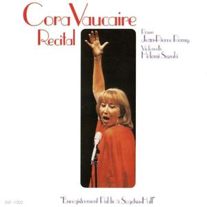 La Complainte de la Butte - Cora Vaucaire Recital au Japon album
