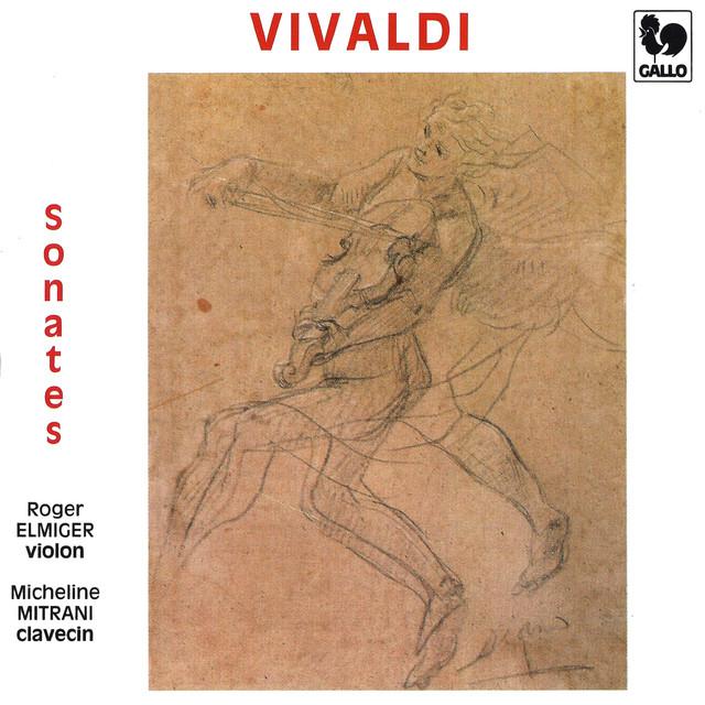 Vivaldi: Violin Sonatas RV 5, 10, 14, 15, 17a, 21, 26 & 35 Albumcover