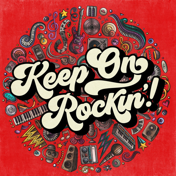 Various Artists Keep on Rockin'! album cover