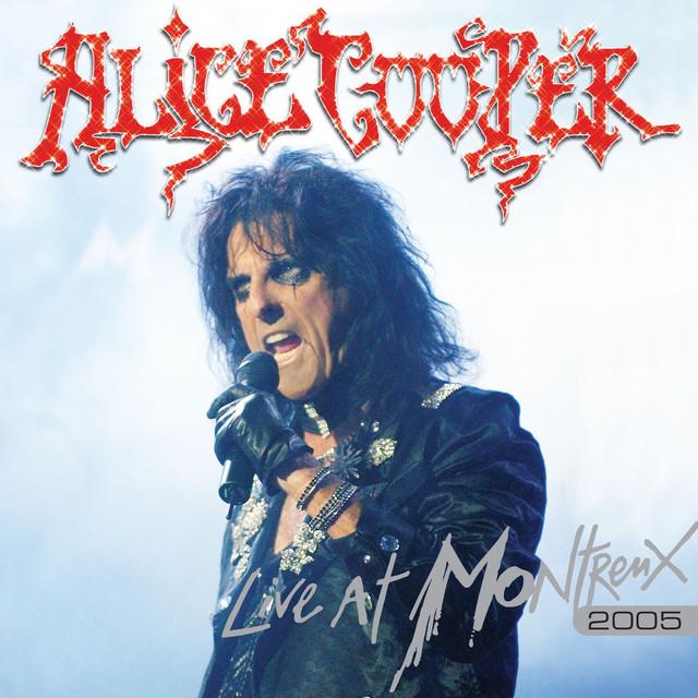 Alice Cooper LIVE AT MONTREUX album cover