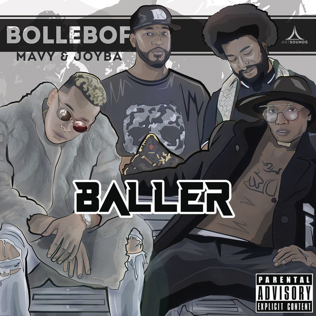 Album cover for Baller by Bollebof