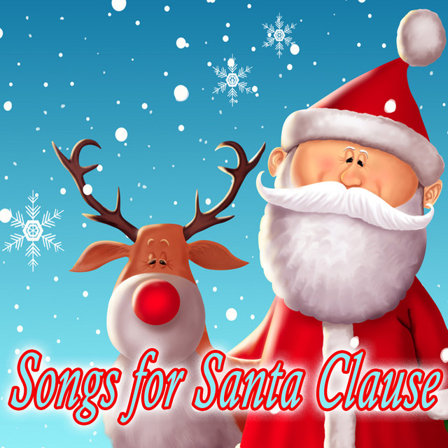 Album cover for Songs for Santa Clause by Christmas Favourites, Children's Christmas, Children's Christmas Party