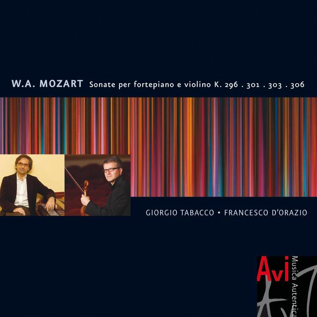Mozart: Sonate Per Pianoforte E Violino K. 296, 301, 303, 306 Albumcover