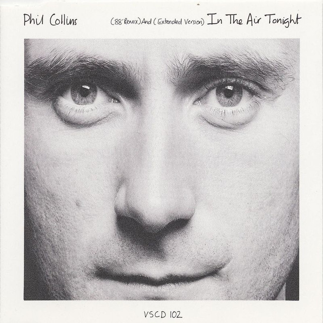 Phil Collins In the Air Tonight album cover