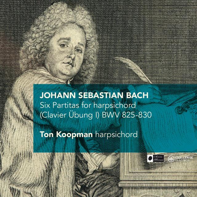 J.S. Bach: Six Partitas for harpsichord (Clavier Übung I) BWV 825-830