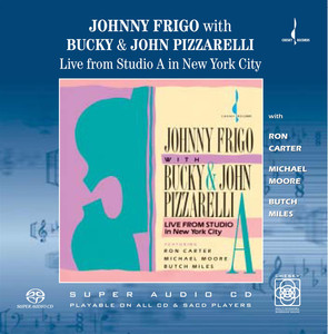 Johnny Frigo, Bucky Pizzarelli, John Pizzarelli In a Sentimental Mood cover