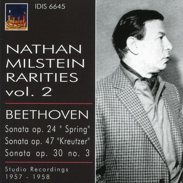 Nathan Milstein Rarities, Vol. 2 (1957-1958) Albumcover