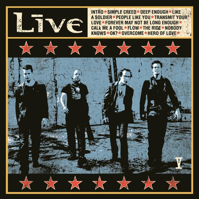 Live V album cover