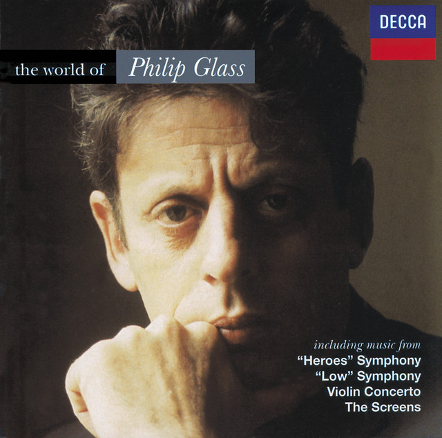 The World of Philip Glass Albumcover