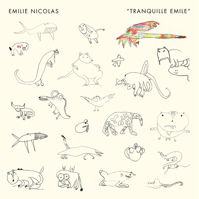 Album cover for Tranquille Emile by Emilie Nicolas
