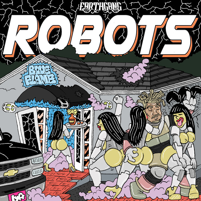 Album cover for Robots - EP by EARTHGANG