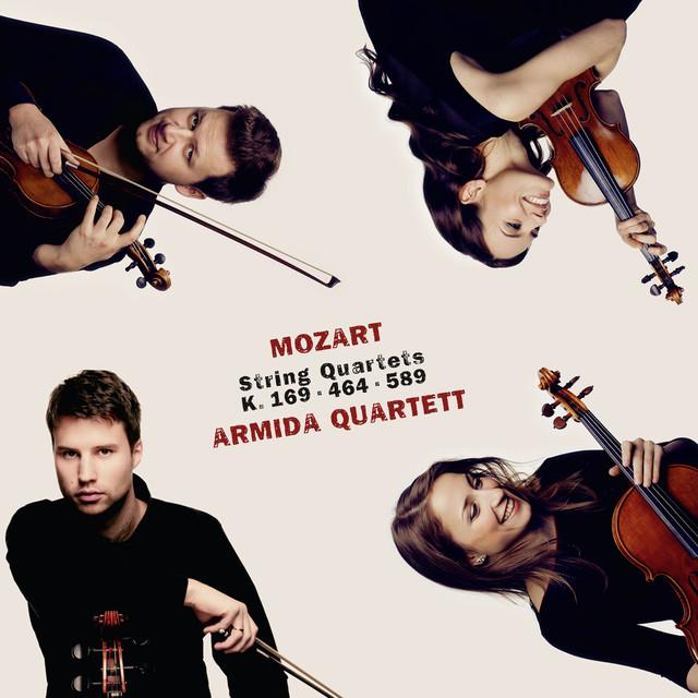 Mozart: String Quartets K. 169, K. 464 & K. 589 Albumcover