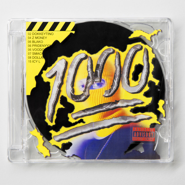 Album cover for 1000 by Hugo Toxxx