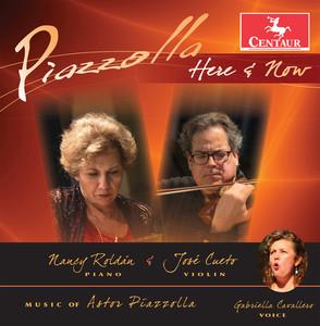 Astor Piazzolla, Gabriella Cavallero, José Miguel Cueto, Laura Ruas, Nancy Roldán Chiquilín de Bachín cover
