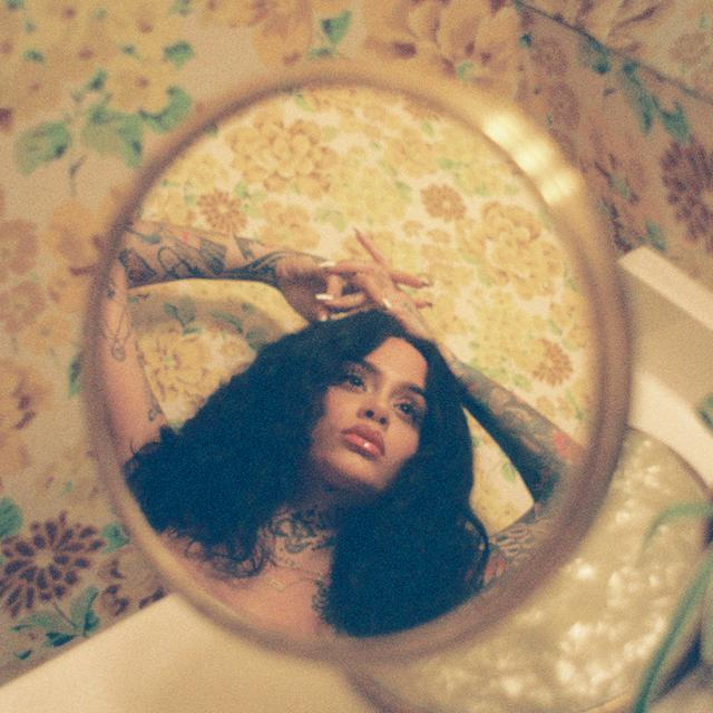 Album cover for While We Wait by Kehlani