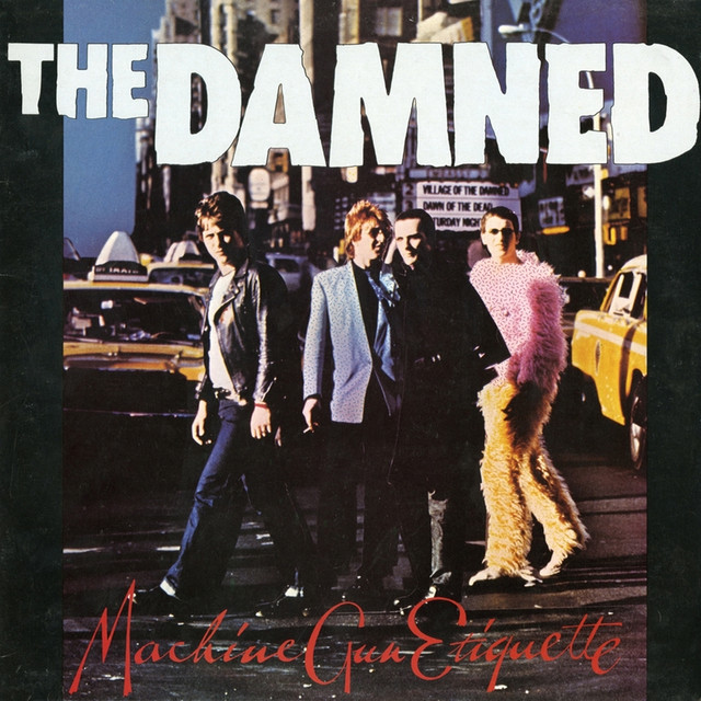 The Damned Machine Gun Etiquette album cover