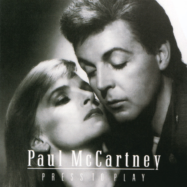 Paul McCartney Press to Play album cover