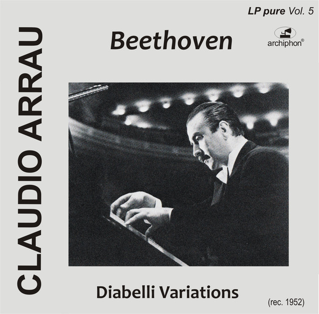 Beethoven, L.: Diabelli Variations Albumcover