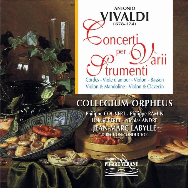 Vivaldi : Concerti per varii strumenti Albumcover