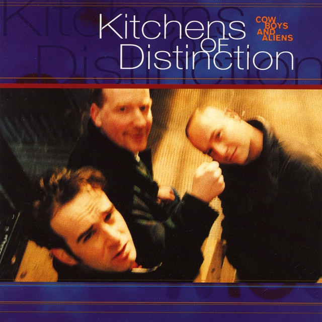 Kitchens of Distinction Cowboys and Aliens album cover