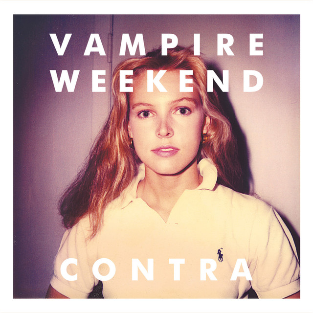 Album cover for Contra by Vampire Weekend