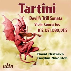 Tartini: Devil's Trill Sonata; Violin Concertos D12, D51, D80, & D115 Albumcover