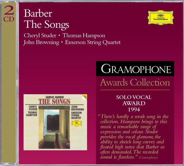 Barber: The Songs (2 CDs)