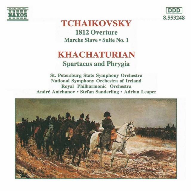 Tchaikovsky, P.I.: 1812 Overture / Khachaturian, A.I.: Spartacus Albumcover