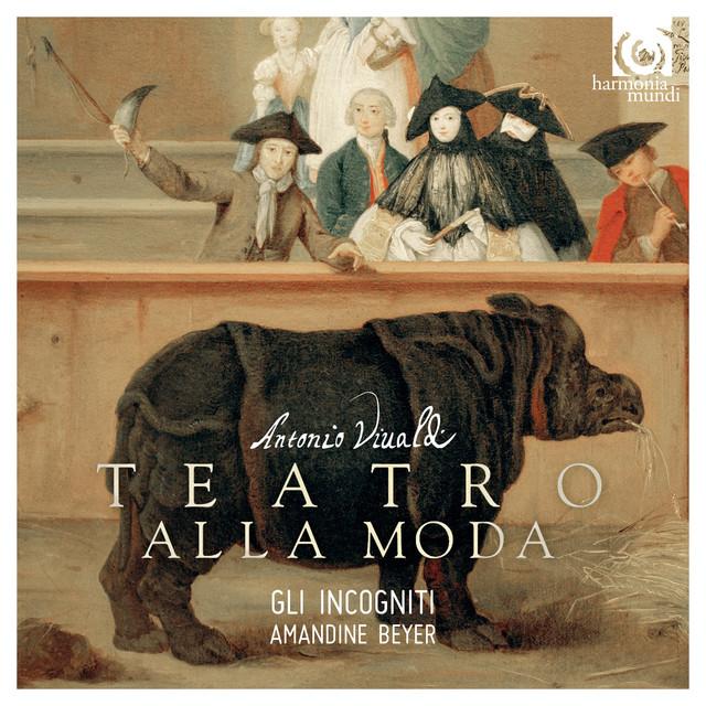 Vivaldi: Teatro alla moda Albumcover