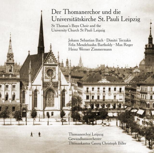 Bach, Mendelssohn, Reger, Terzakis & Zimmermann: Works for Choir
