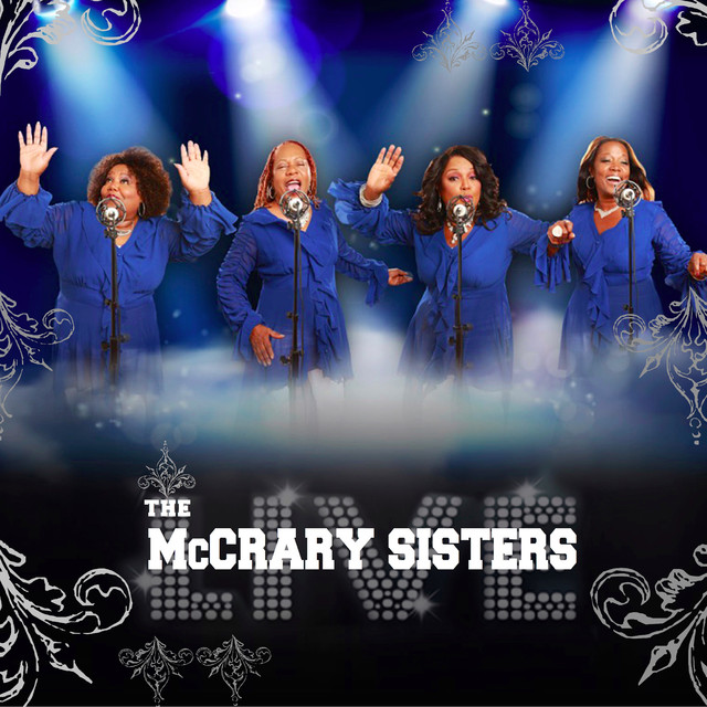 Album cover for Live by McCrary Sisters