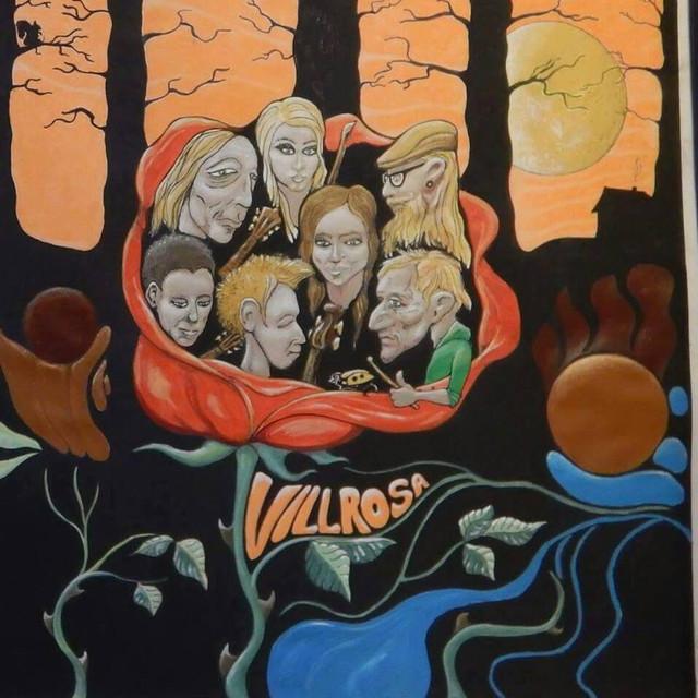Album cover for Villspor by Villrosa