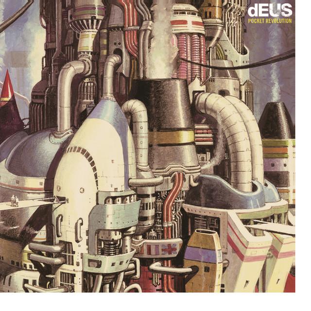 Album cover for Pocket Revolution by dEUS
