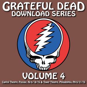 Download Series Vol. 4: 6/18/76 (Capitol Theatre, Passaic, NJ) & 6/21/76 (Tower Theatre, Philadelphia, PA) Albumcover