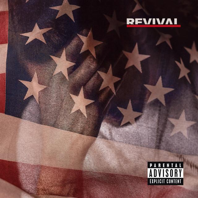 Skivomslag för Eminem: Revival