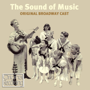 Mary Martin, Theodore Bikel The Sound of Music cover