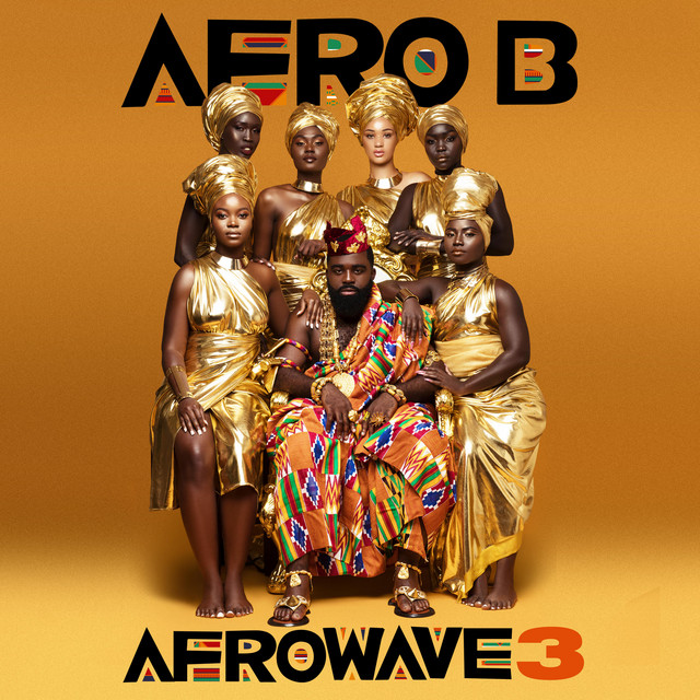 Afro B - Afrowave 3 cover