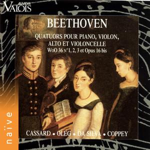 Beethoven: Quatuors pour piano, violon, alto et violoncelle Albümü