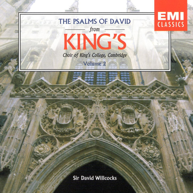 The Psalms Of David Vol2 By Choir Of Kings College Cambridge On