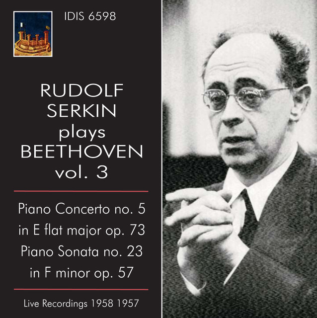 Rudolf Serkin plays Beethoven, Vol. 3 (1957-1958) Albumcover