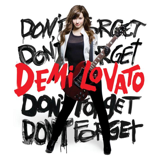 Demi Lovato Don't Forget album cover
