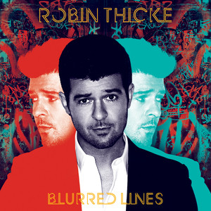 Blurred Lines Albumcover
