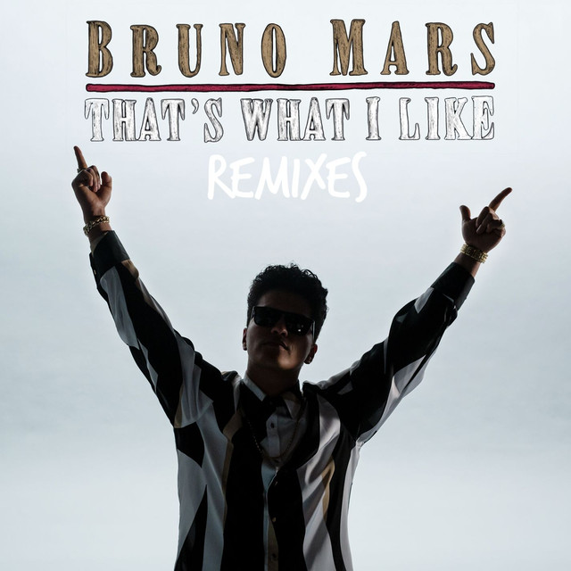Bruno Mars, Blvk Jvck That's What I Like (BLVK JVCK Remix) album cover